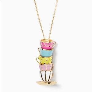 🆕Kate Spade♠️ Tea Time Teacup Pendant Necklace